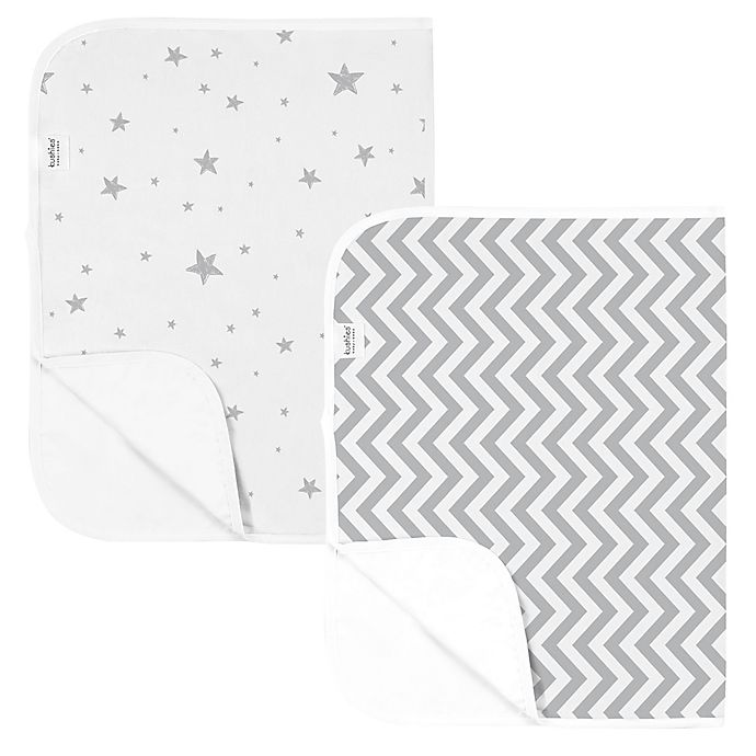 Alternate image 1 for Kushies® 2-Pack Star Changing Pad Liners