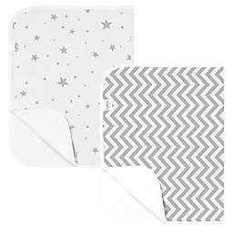 Kushies® 2-Pack Star Changing Pad Liners