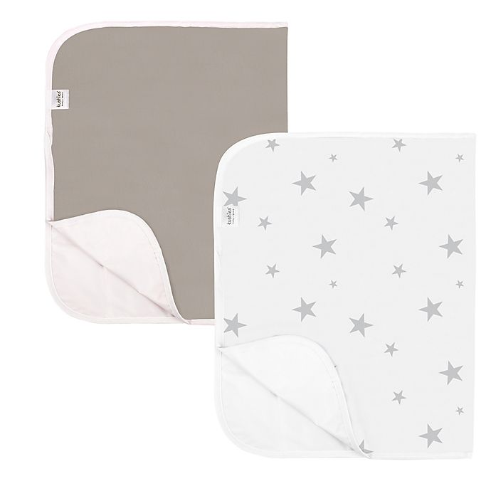 Alternate image 1 for kushies® 2-Pack Organic Cotton Changing Pad Liners