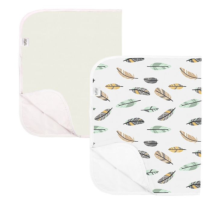 Alternate image 1 for kushies® 2-Pack Waterproof Changing Pad Liners