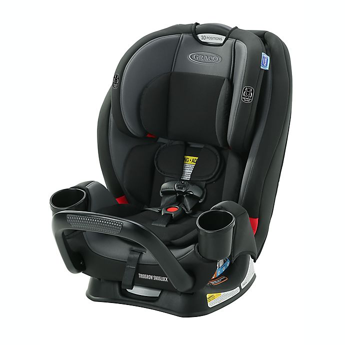 Alternate image 1 for Graco® TrioGrow™ SnugLock® 3-in-1 Convertible Car Seat in Black