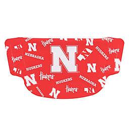 University of Nebraska Dot Face Mask