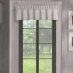 Piper & Wright Cherry Blossom Straight Valance in Grey