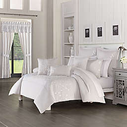 Piper & Wright Cherry Blossom 3-Piece Comforter Set in Grey
