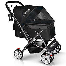 WonderFold Wagon Premium Collapsible Pet Stroller