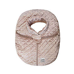7AM Enfant Car Seat Cocoon Cover in Rose Petal
