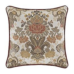 J. Queen New York Juliette 18-Inch Square Throw Pillow in Terracotta