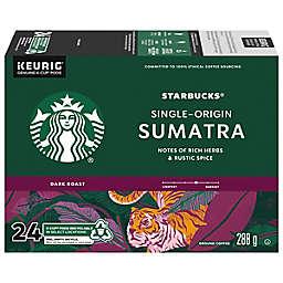 Starbucks® Sumatra Single-Origin Coffee Pods for Single Serve Coffee Makers 24-Count
