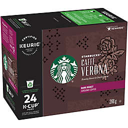 Starbucks® Caffe Verona® Coffee Pods for Single Serve Coffee Makers 24-Count