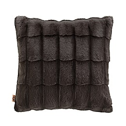UGG® Bella Square Throw Pillow in Charcoal