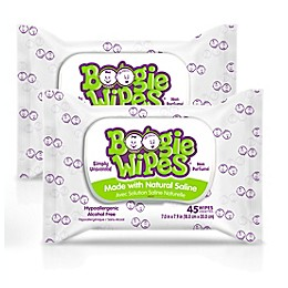 Boogie Wipes® 2-Pack 45-Count Saline Wipes in Unscented