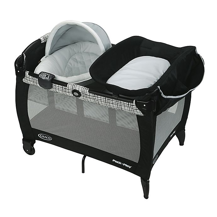 Alternate image 1 for Graco® Pack 'n Play® Playard Newborn Seat Oasis with Soothe Surround™ in Teigen