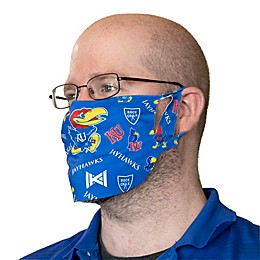 University of Kansas Dot Face Mask