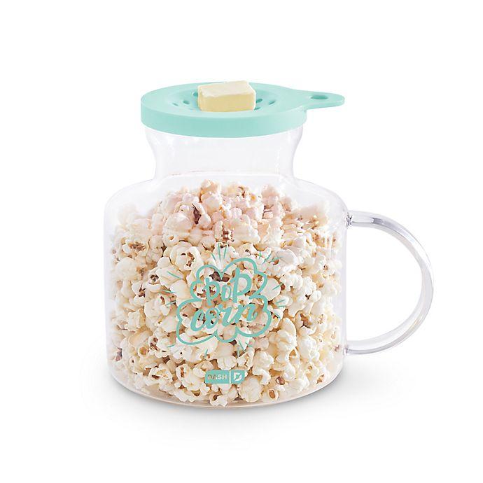 Alternate image 1 for Dash® Microwave Popcorn Popper in Aqua