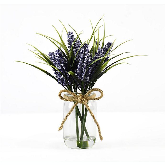 Alternate image 1 for Faux Lilac Floral Arrangement