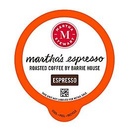 Martha Stewart Martha's Espresso Pods for Single Serve Coffee Makers 22-Count