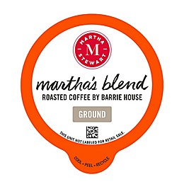 Martha Stewart Martha's Blend Coffee Pods for Single Serve Coffee Makers 22-Count