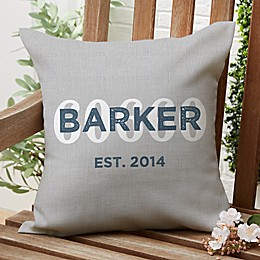 Location Square Outdoor Throw Pillow<br />