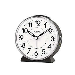 Bulova Oracle Alarm Clock in White
