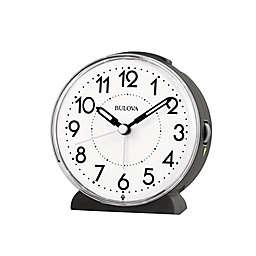 Bulova Oracle Alarm Clock in White