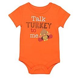 Baby Starters® Talk Turkey Bodysuit in Orange