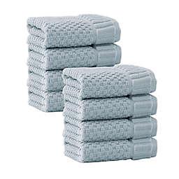 Enchante Home® Timaru Turkish Cotton Washcloths (Set of 8)