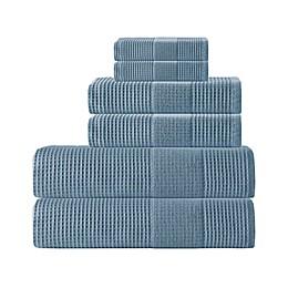 Enchante Home® Ria 6-Piece Turkish Cotton Towel Set in Navy