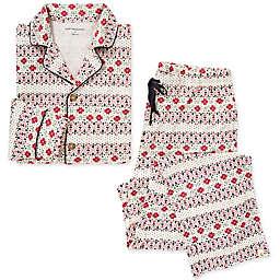 Burt's Bees Baby® Men's 2-Piece Bold Fair Isle Organic Cotton Pajamas in Zinc