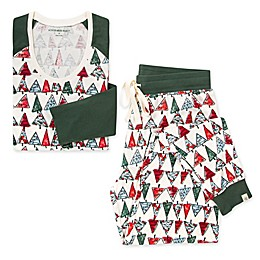 Burt's Bees Baby® Women's 2-Piece O Christmas Tree Organic Cotton Pajama Set