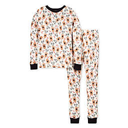 Burt's Bees Baby® Size 8/10 Big Kids 2-Piece Reindeer Organic Cotton Pajama Set