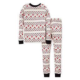 Burt's Bees Baby® Child's 2-Piece Bold Fair Isle Organic Cotton Pajama Set