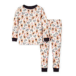 Burt's Bees Baby® 2-Piece Reindeer Organic Cotton Pajama Set