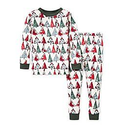 Burt's Bees Baby® 2-Piece O Christmas Tree Organic Cotton Pajama Set