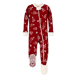 Burt's Bees Baby® Hats Off Organic Cotton Footie in Cranberry