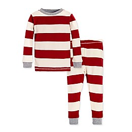 Burt's Bees Baby® Rugby Stripe 2-Piece Organic Cotton Toddler Pajama Set