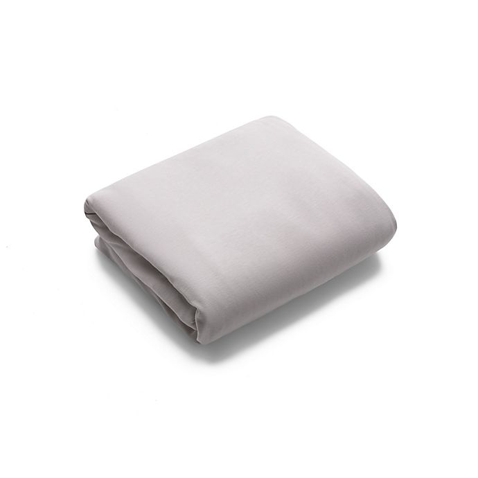 Alternate image 1 for Bugaboo® Stardust Fitted Playard Sheet in White