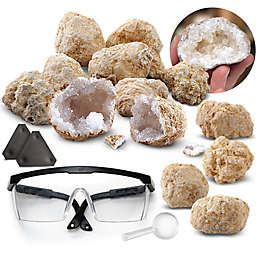 Discovery™ MINDBLOWN 14-Piece Mystery Crystals Geode Excavation Kit
