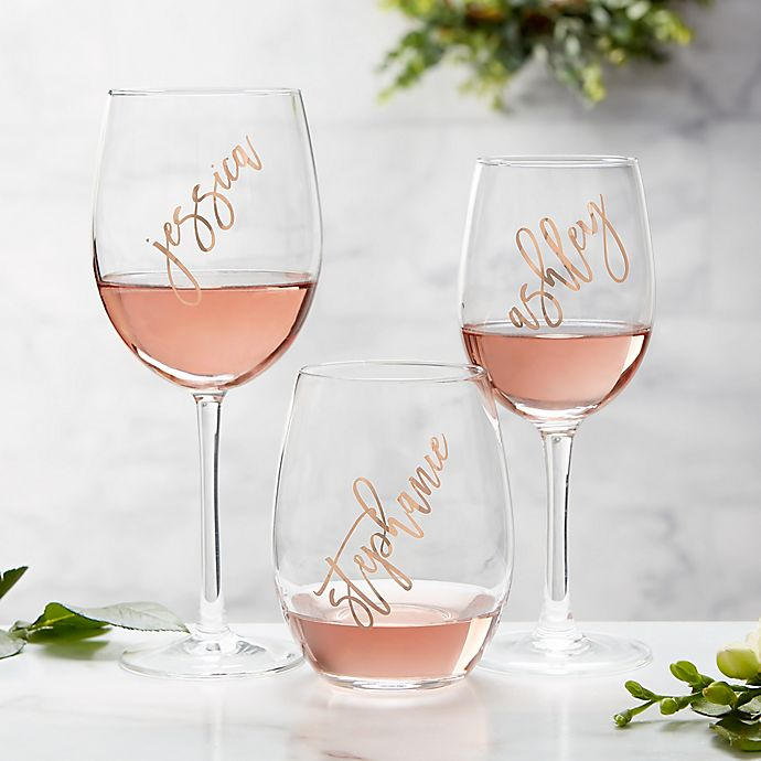 Alternate image 1 for Rosé Wine Glass Collection