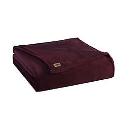 UGG® Coco Twin Blanket in Cabernet