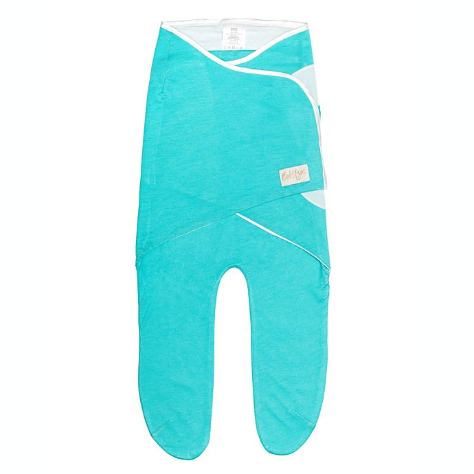 Alternate image 1 for BeBitza® One Size BeSwaddle Wrap in Teal