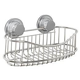 ORG NeverRust® Power Grip Pro™ Stainless Steel Shower Caddy
