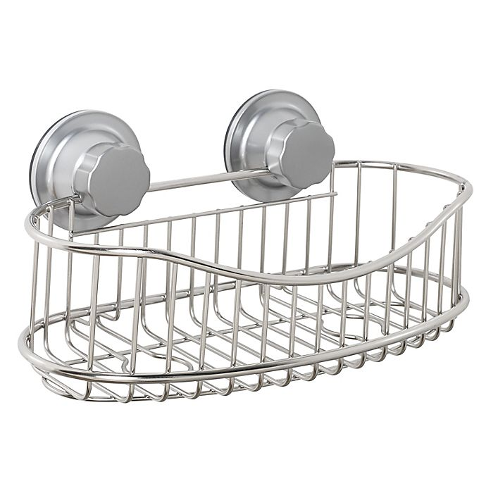 Alternate image 1 for ORG NeverRust® Power Grip Pro™ Stainless Steel Shower Caddy