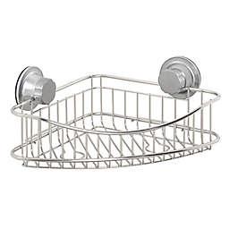 ORG NeverRust® Power Grip Pro™ 2-Tier Stainless Steel Corner Basket