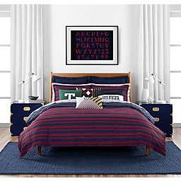 Tommy Hilfiger® Heritage Stripe 3-Piece Reversible Comforter Set in Red