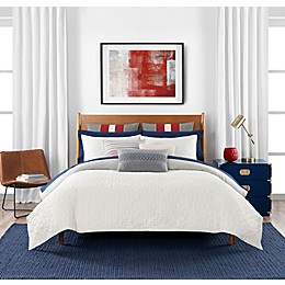 Tommy Hilfiger® Quilted Monogram 3-Piece Reversible Comforter Set