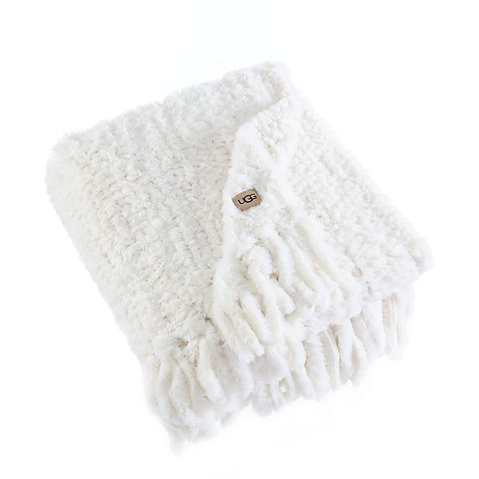 Alternate image 1 for UGG® Meadow Hand-Knitted Throw Blanket