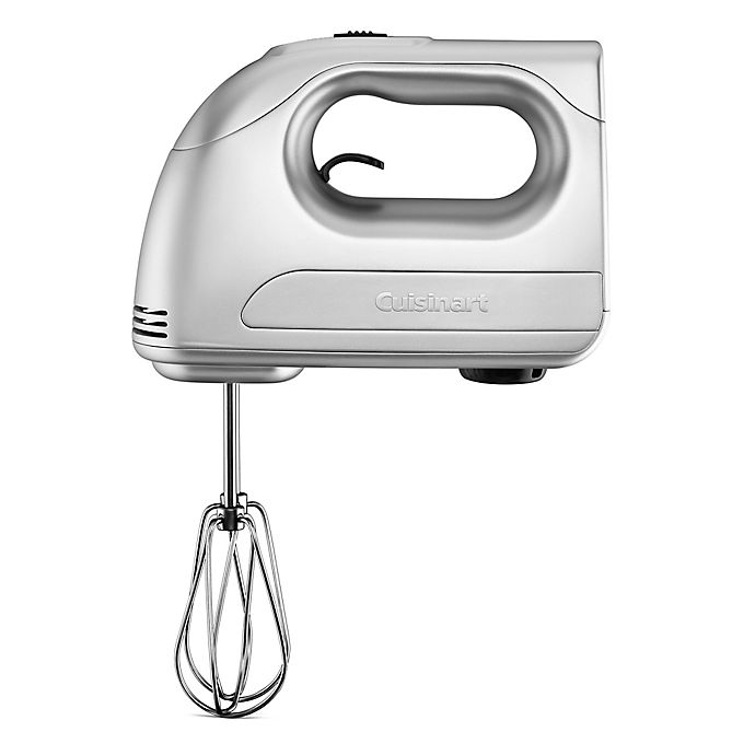 Alternate image 1 for Cuisinart® Power Advantage 7-Speed Hand Mixer with Storage Case in Silver