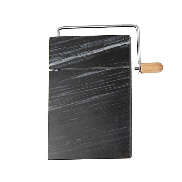 Alternate image 1 for Artisanal Kitchen Supply® Black Marble Cheese Slicer