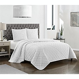 Berta 3-Piece Reversible Quilt Set
