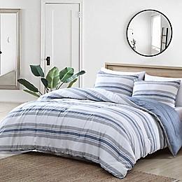 Nautica® Bay Shore 3-Piece Reversible Comforter Set in Navy